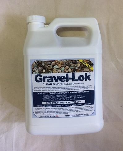 Gravel Lok Clear Binder